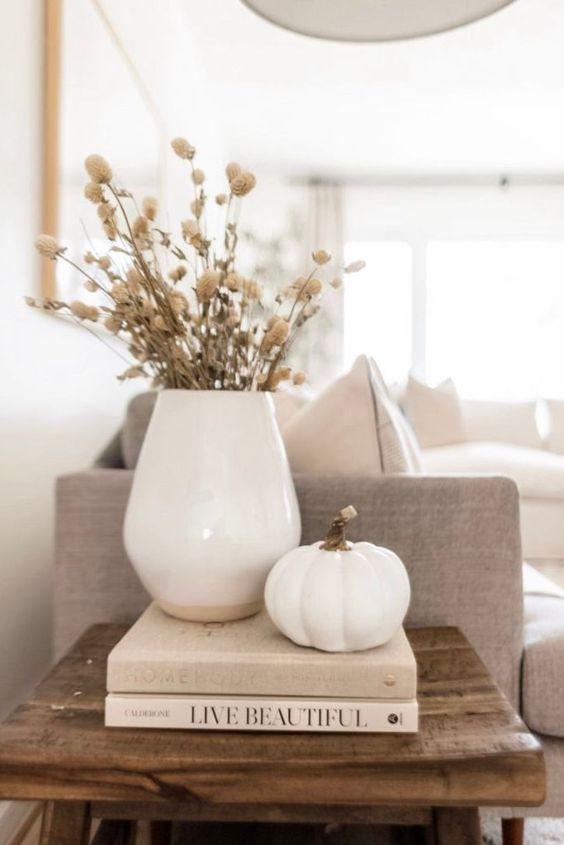 Jesenné dekorácie v obývačke - Obrázok č. 49