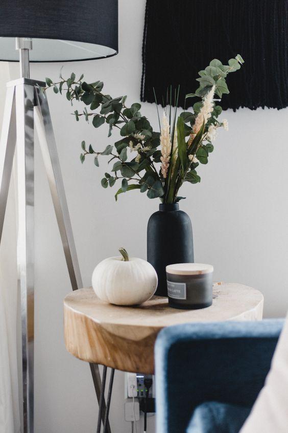 Jesenné dekorácie v obývačke - Obrázok č. 52