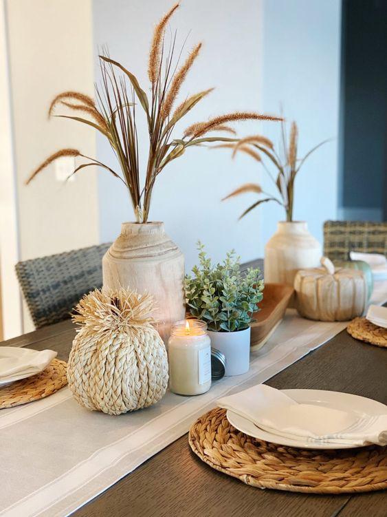 Jesenné dekorácie v obývačke - Obrázok č. 58