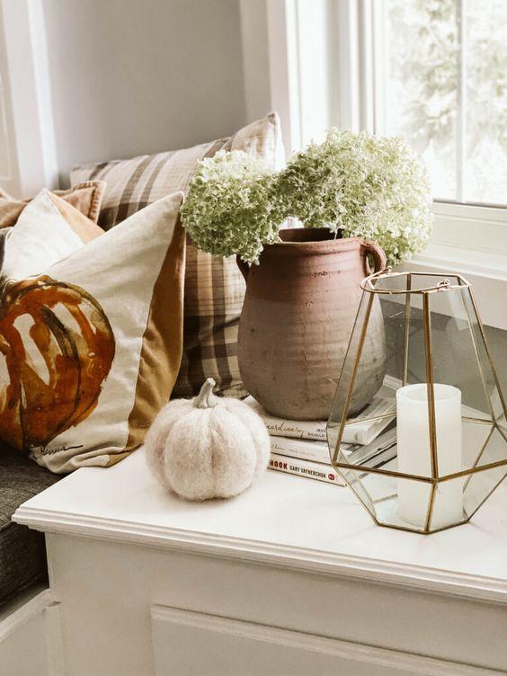 Jesenné dekorácie v obývačke - Obrázok č. 56