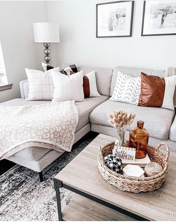 Jesenné dekorácie v obývačke - Obrázok č. 54