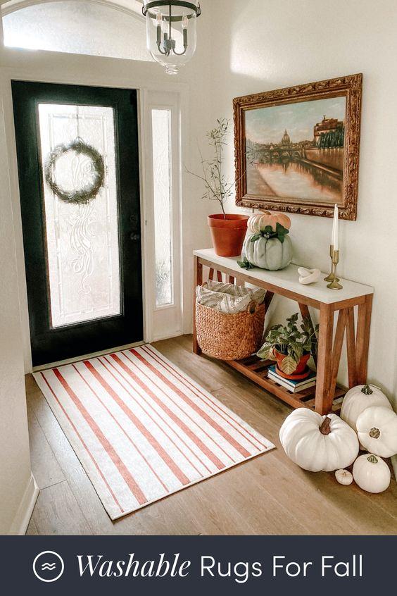 Jesenné dekorácie v obývačke - Obrázok č. 57
