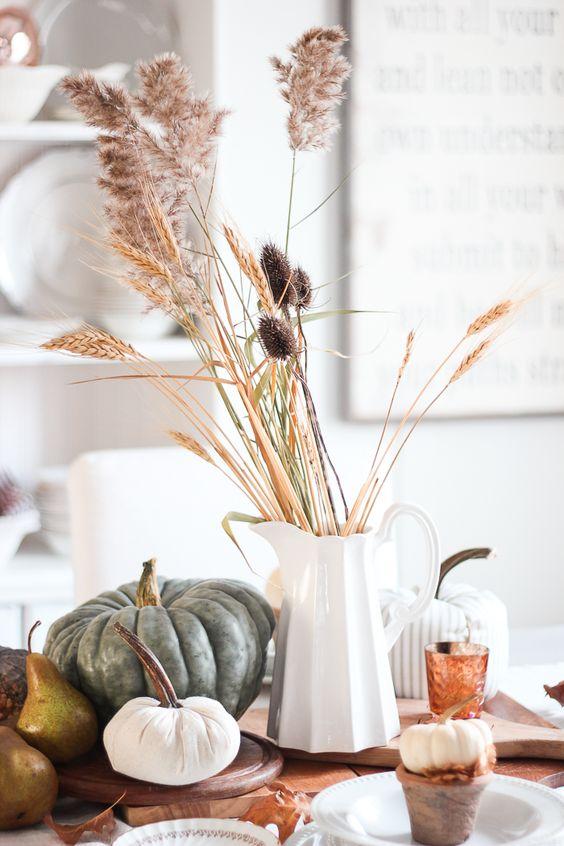 Jesenné dekorácie v obývačke - Obrázok č. 59