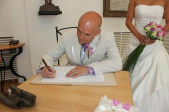 manžel podpis
