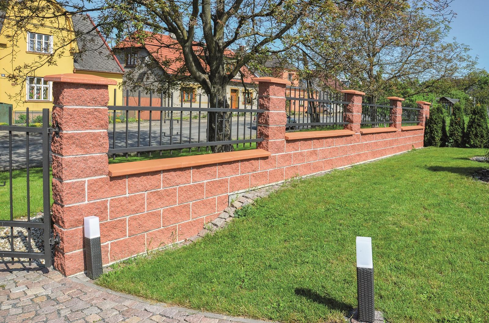 Betonové ploty z tvárnic, cihel a deskové - FACE BLOCK