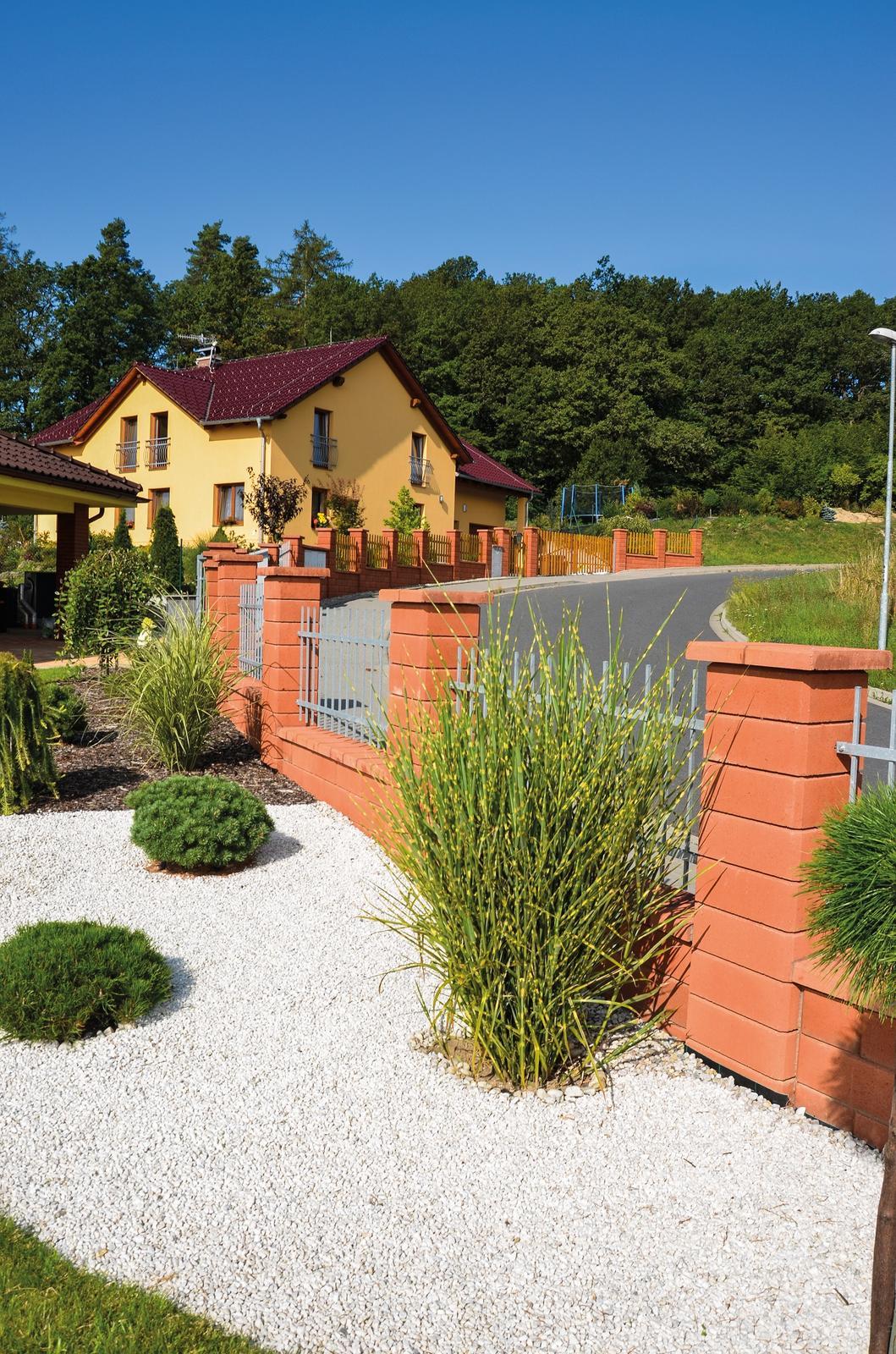 Betonové ploty z tvárnic, cihel a deskové - SIMPLE BLOCK