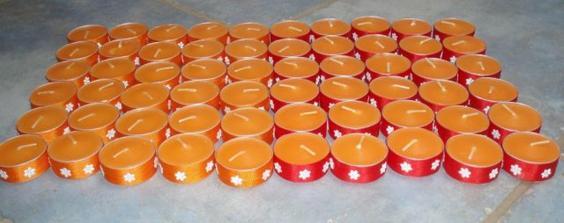 Hodně hodně svíček-vlastní výroba