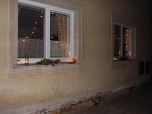 pohled na dům,dušičky 2008
