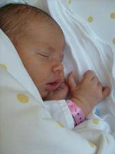 Kateřina se narodila 3.6.2010 další menší zdrženíčko
