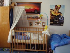 Jakubův původní pokojíček, poté ložnice a v současné chvíli opět pokojíček obou mladších dětí