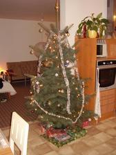 naše první vánoce rok 2007