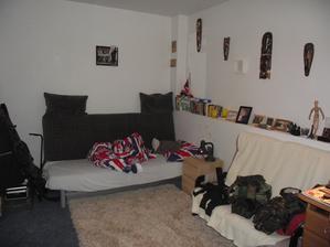 Původní průjezd,teď pokoj mého 17ti letého syna Jakuba
