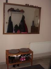 předsíň a zrcadlo z bazaru,miluju bazary a zástavárny