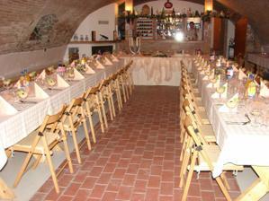 tu bude svadobna hostina...Pivnica u Stefana (pre grinavanov byvala Karpatka :)