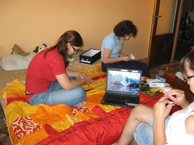 5.9.2009 J&Z - makame na vyzdobe :)