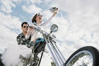 Svatba bude motorkářská...
