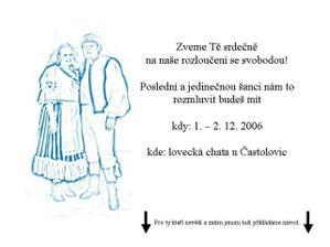 Nezbytná nutnost před každou svatbou :-)