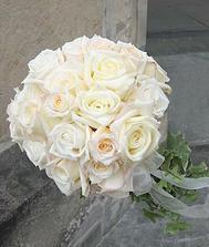 kulatá, bílo-zelená, růže - to je přesně ono