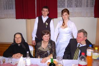 mužova babka a jeho rodičia