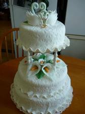 naša  svadobna     torta