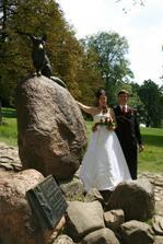 Když svatba na Hukvaldech tak liška nesmí chybět