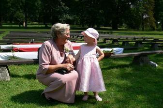 A moje nejmilovanější, babička s netěří