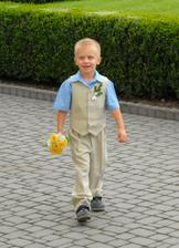 můj syn Štěpánek