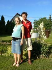 Červenec 2007-za dva měsíce čekáme miminko