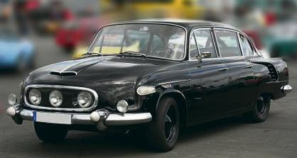 auti pro nevestu - tatra 603