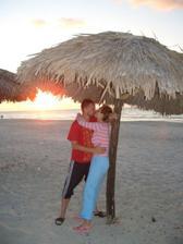 Západ slnka pri Atlantiku a romantika na koniec :-)