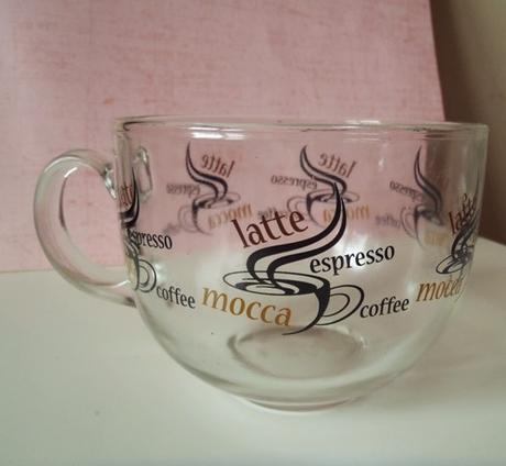 sklenený pohár latte - Obrázok č. 2