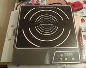 indukčný varič-jednoplatnička,