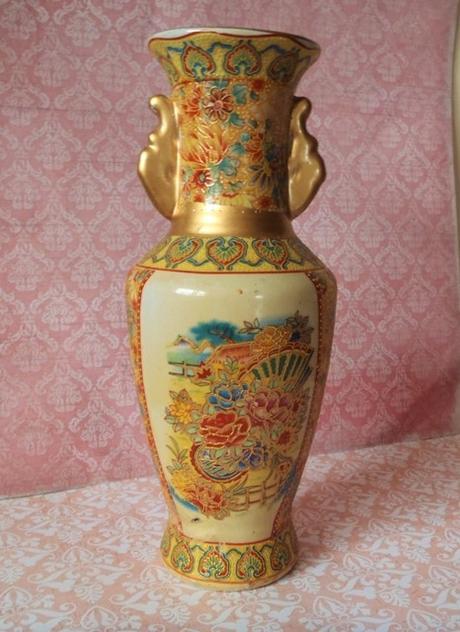 čínska keramická váza - Obrázok č. 1