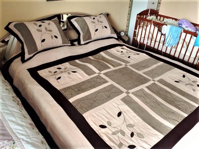 prehoz na posteľ+2 x obliečka na vankúš - Obrázok č. 1