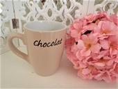 šálka chocolate -cafe,