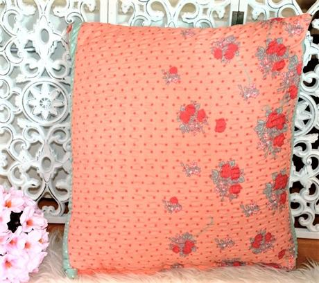 oranžová obliečka na vankúš - Obrázok č. 1