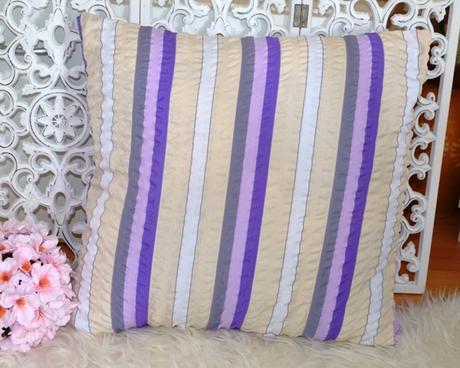 fialová obliečka na vankúš - Obrázok č. 1