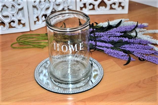sklenený lampáš,svietnik-home - Obrázok č. 1
