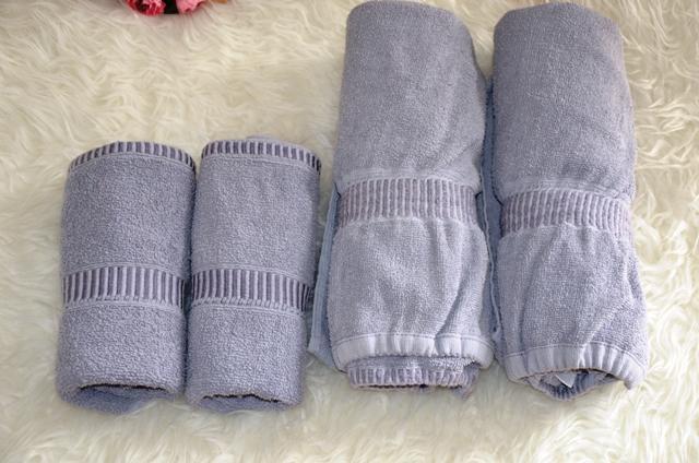 4 dielna sada-2 x uterák,2x osuška - Obrázok č. 1