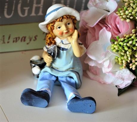 figúrka dievčatko-námorníčka - Obrázok č. 2