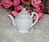 keramický čajníček,ozdoba,