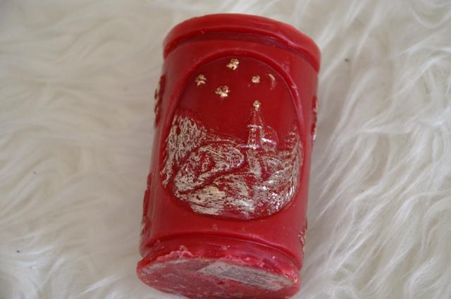 červená vianočná sviečka - Obrázok č. 1