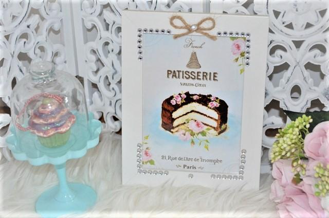 obraz na stenu-tortička - Obrázok č. 1