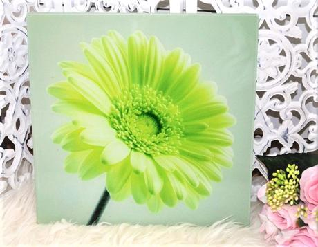 sklenený obraz-kvet - Obrázok č. 1