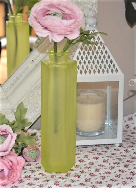 žltá sklenená váza - Obrázok č. 1