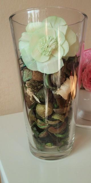 číra sklenená váza - Obrázok č. 1