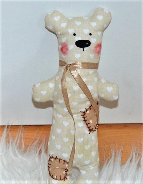 textilný macko - Obrázok č. 1