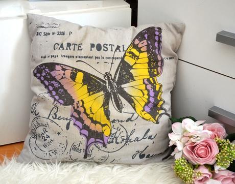 vankúš motýľom-40x40cm - Obrázok č. 1