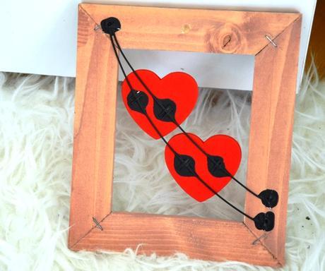 drevený obraz srdcia - Obrázok č. 3