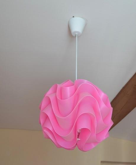 set nočná lampa+luster - Obrázok č. 1